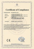 CE-LVD-Certificate for Desktop Type Switching Power Adapters