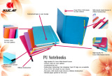 Custom High Quality PU Notebook