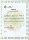 Authorized Certificate Of Generator Distributor to Honduras Client
