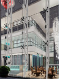 stainless steel spider fitting for shopping mall project in Brazil