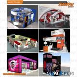 aluminum fabric trade show booth design