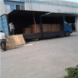 2 sides with PE protected film brown papre outside carried with pallet