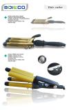 Golden Painting Dubai popular triple barrel curling iron