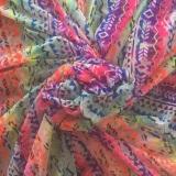 93%nylon 7%spandex mesh printing fabric