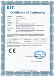 certificater of CE