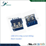 USB2.0 Big current 5A A/Female 4Pin right angle type