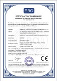 CE Certificate of Dispenser Robot