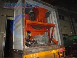 CT1530 Rotary Screen&Pumps deivery to Jakarta