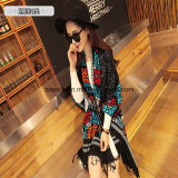 Fashion Geometric Pattern Wool Shawl