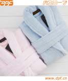 Soft flannel home bathrobe