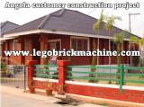 interlocking brick construction house