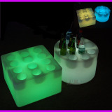 colorful Led ice bucket
