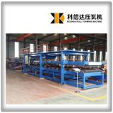 KXD EPS/ Rock wool sandwich panel production line insulation board making machine