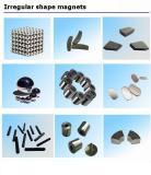 Irregular shape magnets