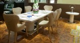 LUXURY DINING SET IN BONLIVING BOOTH