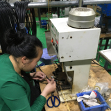 Inserting connector machines