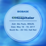 Welcome to visit BIOBASE at Hospitalar 2017