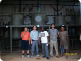 Our Vegetabale Oil Production Line in South Asia