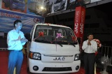 JAC Held the High-end Mini Truck Release Conference in Laos