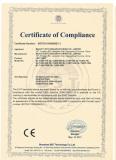 Certificate LED Tube CE EMC
