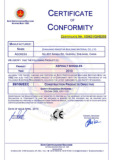CE Certificate of Asphalt Shingle