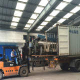 Loading for air jet loom