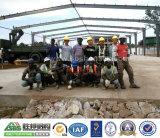 China SBS Engineer Guide Tanzanian Work Install Steel Building
