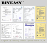Certificate of Riveasy Lighting