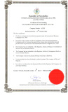 Business Good Standing Certificate