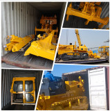 bulldozer stuffing container