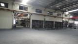 workshop weld line machine