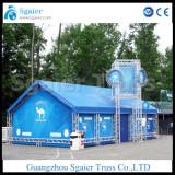 aluminum truss house warehouse truss structure