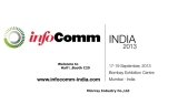Infocomm India 2013