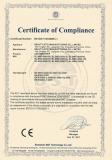 Certificate 12V LED strip CE EMC