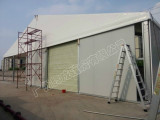 ABS tent a shape tent warehouse tent in Purcell Garr