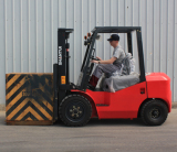 Forklift in Rusia