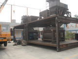 Pre-assembly of Concrete Batching Plant 120m3/h
