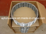 Single coil concertina razor wire
