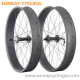 100mm Width Carbon Fat Bicycle Wheels