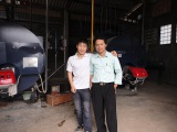 oveaseas service in Indonesia for 2*2ton boiler