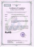 RoHS certification for porcelain lampholder