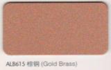 ALB615 Gold Brass