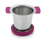 Unique design of Clip angle cut mug tea infuser