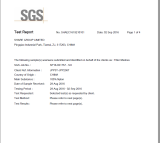 Non-Silicon Test Report