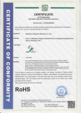 Latest ver RoHs Certifications