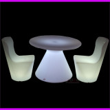 new led furniture led chair and table for hotel