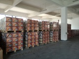 Winches waiting for shipment in warehouse