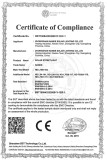 Certificate of Compliance for Solar Street Light