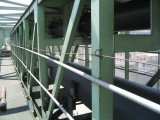 Pipe belt conveyor