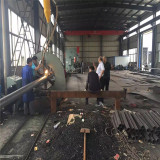 Russia Customer come to visit our factory